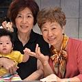 大姨婆 奶奶 妍妍, 於DUA飲茶