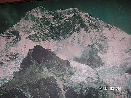 翻拍的聖母峰