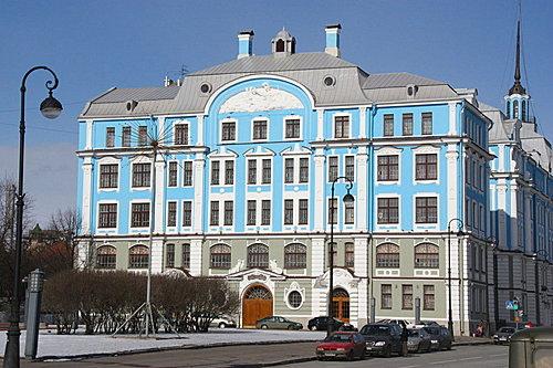俄羅斯 藍色房子358