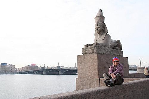 俄羅斯 人面獅身像