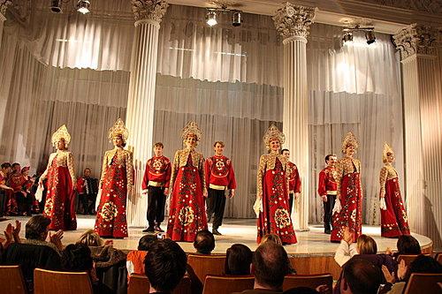 俄羅斯 尼古拉宮舞蹈表演