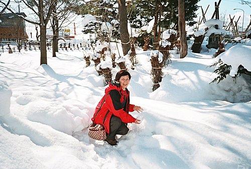 冰冰涼涼的雪體驗
