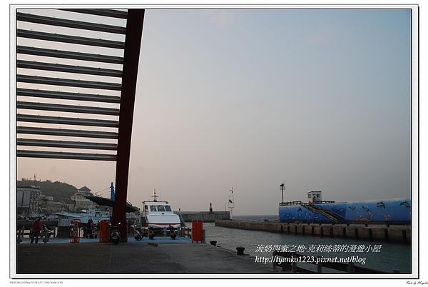 傍晚時的海港.jpg