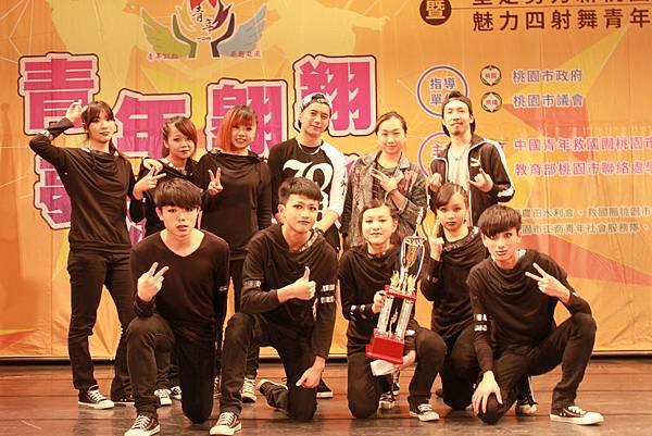 圖三:冠軍頭銜由內壢高中的「Plus Ultra」隊伍獲得