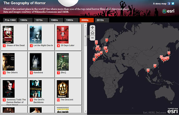 The Geography of Horror