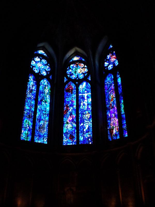 Marc Chagall  Cathédrale Notre-Dame de Reims