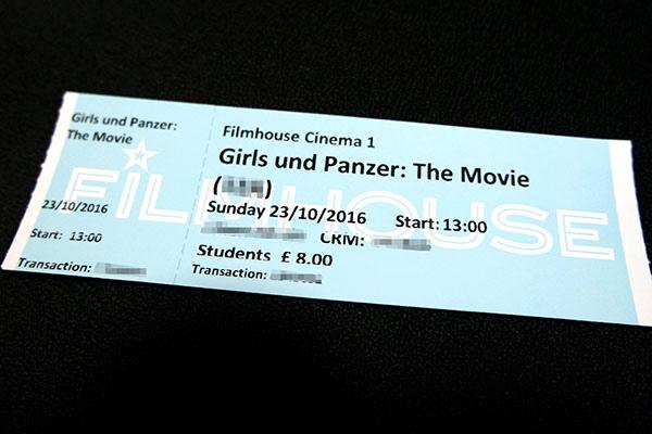 Girls und Panzer: The Movie  Scotland Loves Animation