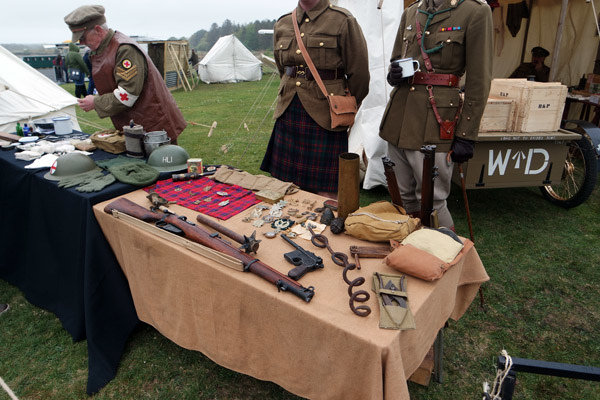 Wartime Experience,  First and Second World War Encampments
