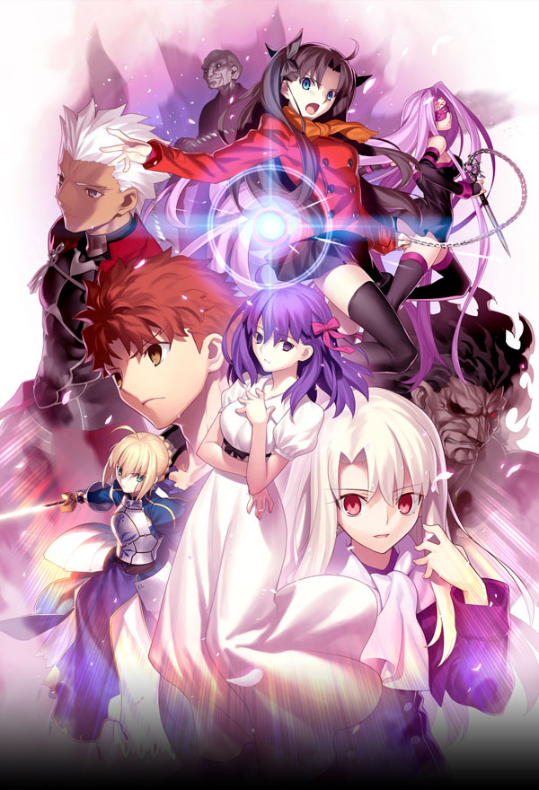 劇場版「Fate/stay night [Heaven's Feel]」 Key Visual