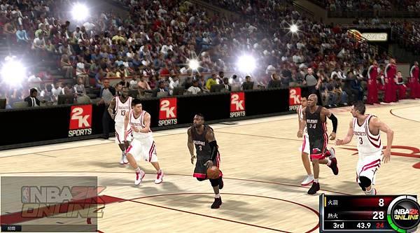 遊戲畫面_NBA經典賽