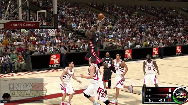 遊戲畫面_NBA對抗賽