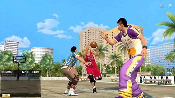 遊戲畫面_NBA街頭賽