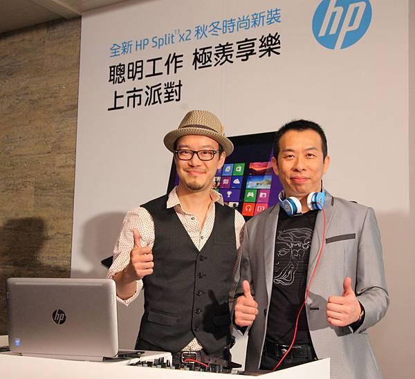 圖說一、HP_惠普科技今年秋季推出全新13吋平板筆電Split_13_x2,打造聰明工作,極羨享樂新生活