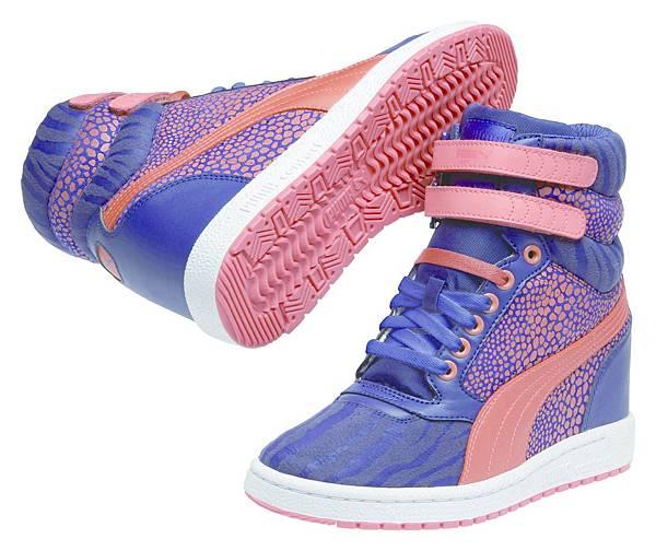 35579802_PUMA Sky Wedge Reptile運動風高筒楔型鞋 建議售價:NT$ 3,280