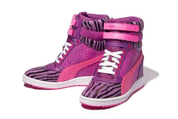 PUMA Sky Wedge Reptile運動風高筒楔型鞋 建議售價:NT$ 3,280