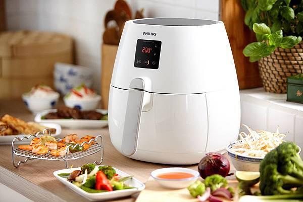 飛利浦第二代健康氣炸鍋-「白金升級款(HD9230-建議售價$12,900)」(圖由飛利浦提供)