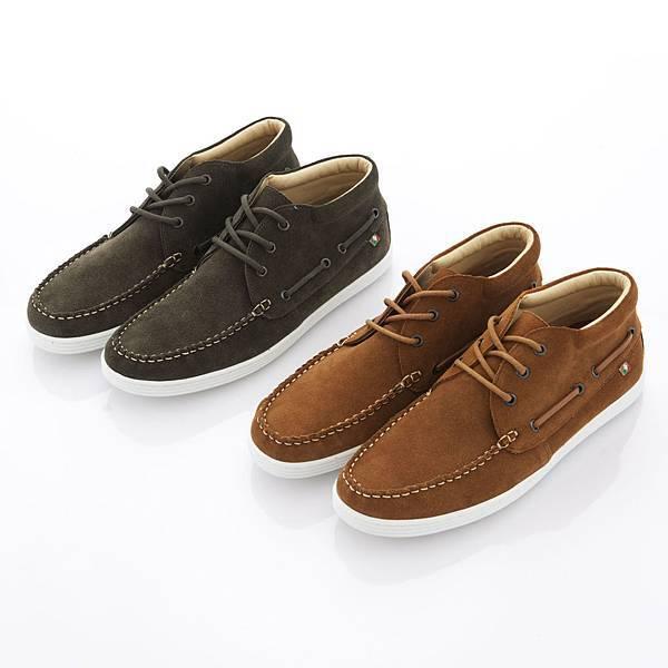 TRAVEL FOX 新年新品_紳士沙漠靴 系列_皮革亮面- NTD 3,500元,麂皮面- NTD 3,200元