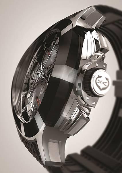 圖三 CHARRIOL GRAN CELTICA™ 自動計時腕錶,建議售價NT$132,900