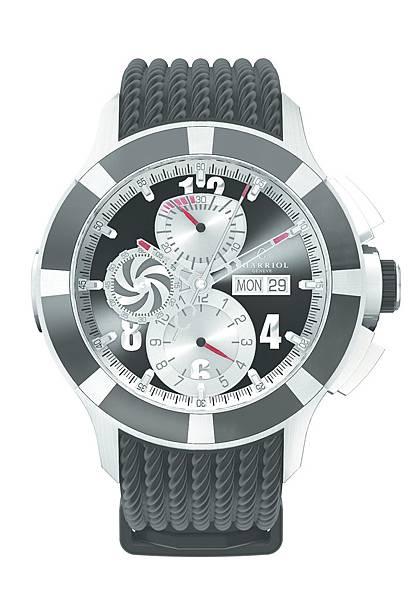 圖五 CHARRIOL GRAN CELTICA™ 自動計時腕錶,建議售價NT$132,900