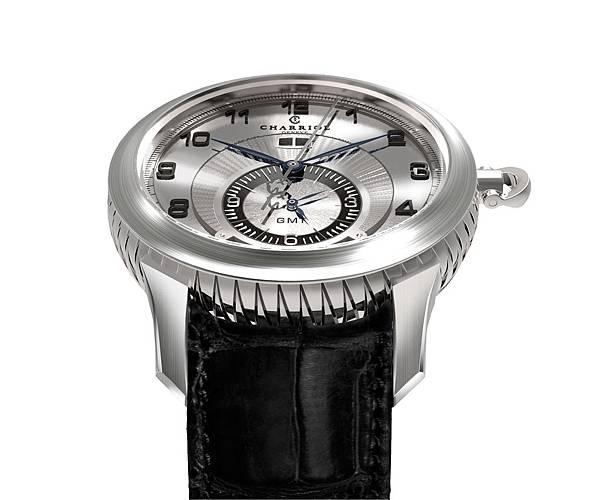 圖十二 COLVMBVS™ Grande Date GMT腕錶,建議售價NT$132,900