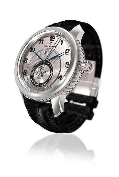 圖十一 COLVMBVS™ Grande Date GMT腕錶(側),建議售價NT$132,900