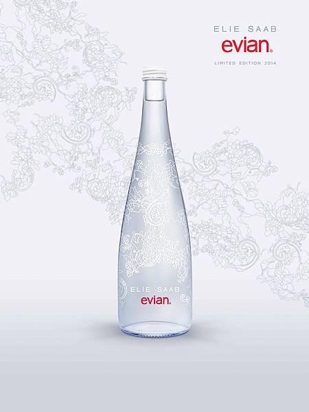 evian x ELIE SAAB 2014限量紀念瓶