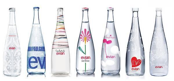 evian連續第七年邀請國際著名時裝設計師合作推出特別版紀念瓶