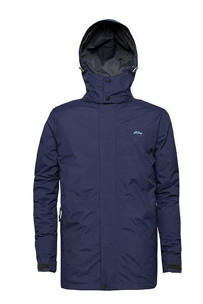 Hilltop山頂鳥「二合一防水羽絨外套」男款-1 原價$12800 品牌日特價$6830