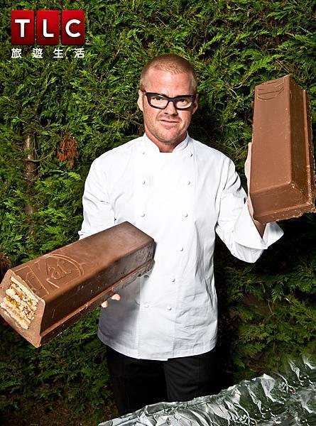 赫斯頓化身巧克力冒險工廠威利旺卡創造超大夢幻巧克力