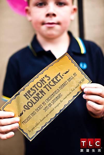 赫斯頓發行黃金票券邀請民眾和他一起體驗食物的魔幻力量