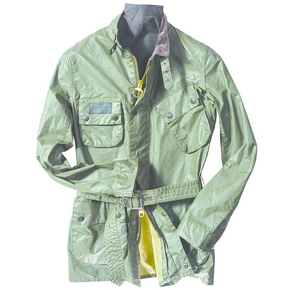 Vachetta SL International重機系列類皮革風衣定價16,200