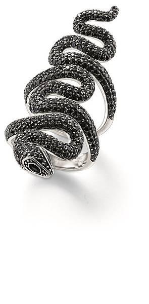 16.THOMAS SABO Glam & Soul 蛇戒 建議售價 NT $ 23,900