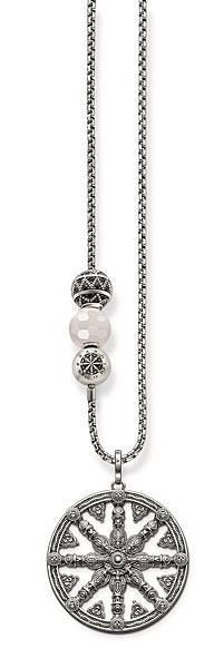 19.THOMAS SABO Karma Beads系列 生命之輪 串珠項鍊組 建議總售價 NT $ 23,670