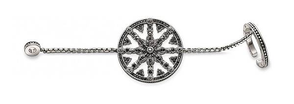 14.THOMAS SABO Karma Beads串珠系列 生命之輪鍊戒,建議售價NT$14,300