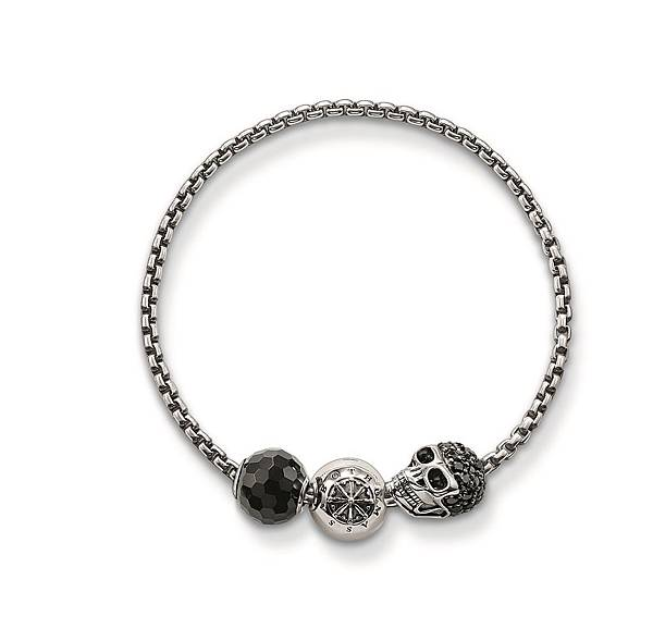 13.THOMAS SABO Rebel at Heart Karma Beads串珠系列 手環