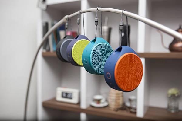 羅技無線音箱 X100 時尚音箱繽紛玩色 美妙音樂如影隨形