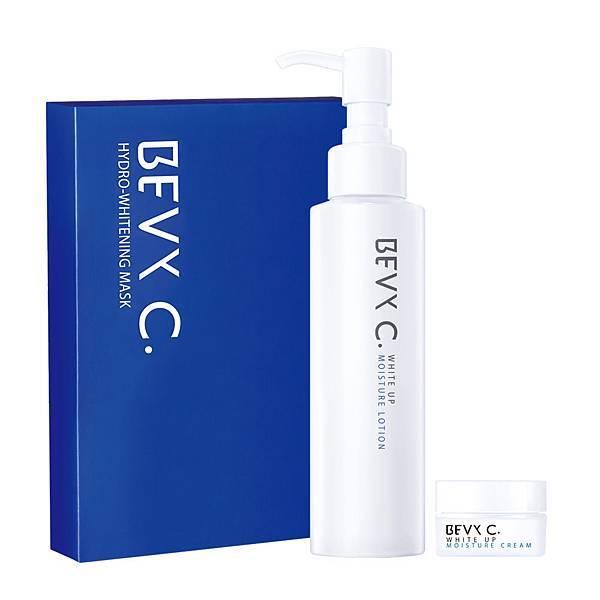 【86獨家】BEVY C. 美白特惠組 (化妝水+面膜+凝霜)