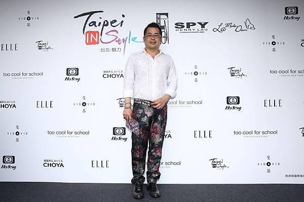 知名設計師林國基出席中港澳炙熱時尚時裝秀