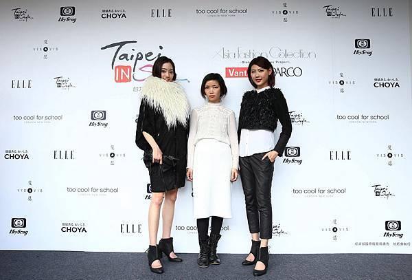 設計師Akiko Kishimoto與模特兒合照