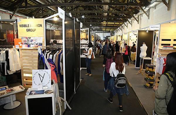 「台北魅力展 Taipei IN Style」現場靜態展區,周末開放民眾免費入場,感受時尚流行氛圍