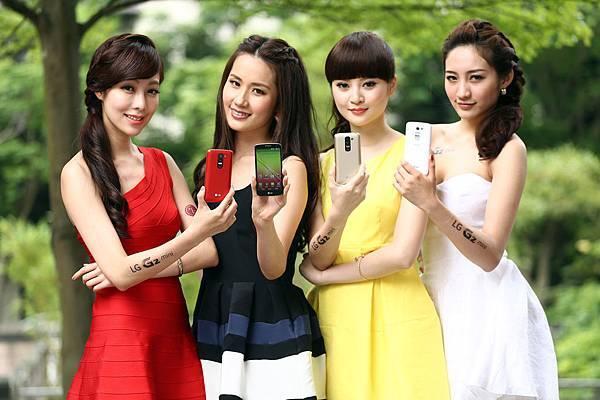 承襲G2的血統 LG G2 mini 4G LTE同樣搭載了許多智慧UX功能 包含QSlide多工Q視窗 Quick Memo好繪寫等