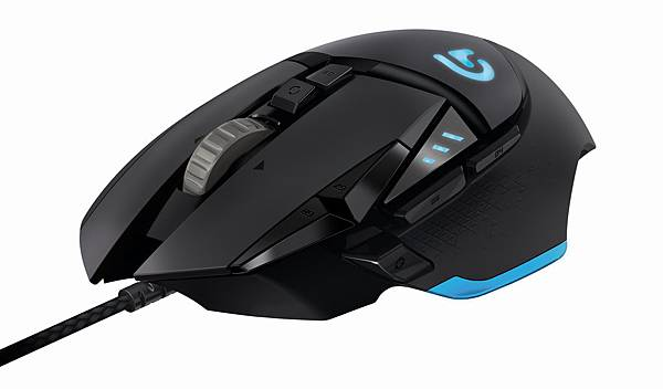羅技 G502 Proteus Core 自調控遊戲滑鼠_產品圖(1)