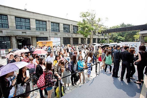2014台北魅力展春季展參觀人潮