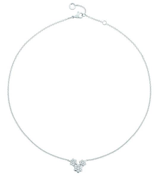 111370 萬寶龍摯愛系列流星雨繁星白金鑲鑽項鍊,NT$92,700