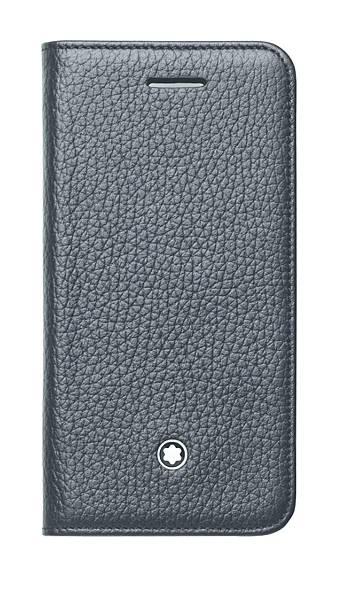 111133 萬寶龍Meisterstück大師傑作系列粒面軟皮黑色智慧型手機保護套(iPhone5適用),NT$7,000