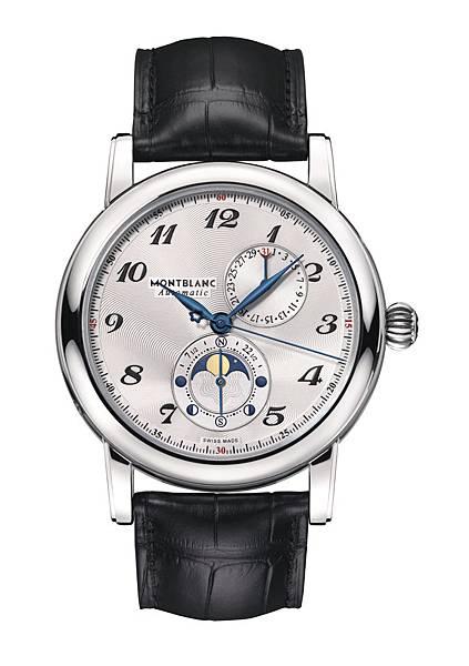 110642 萬寶龍Star系列雙月相腕錶(Twin Moonphase),NT$165,200_正面去背圖