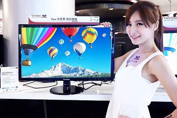 ViewSonic推出多款全新顯示器及投影系列 多元完整應用方案  護眼、專業、高色彩驚艷亮相_現場情境照(3)