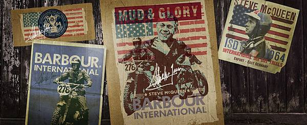 Barbour International X Steve McQueen Collection 2014
