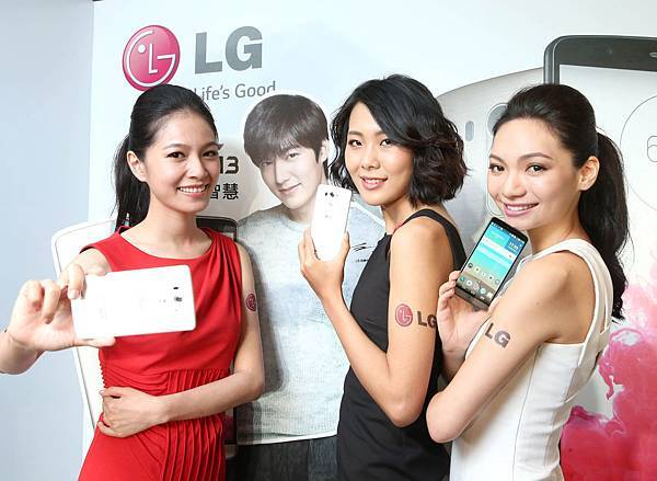 LG品牌代言人李敏鎬,在台首款推薦旗艦機皇