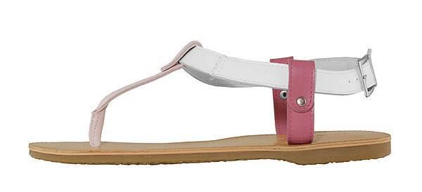 TRAVEL FOX 繫踝皮繩羅馬涼鞋-細鞋繩(粉紅)_原價$2,600元_新品優惠價$1,500元